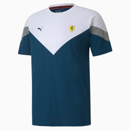 T-shirtScuderiaFerrariRace MCS, homme, Mer de Gibraltar, petit