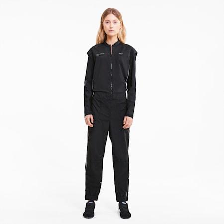 Mercedes Women's Street Jumpsuit, Puma Black, small