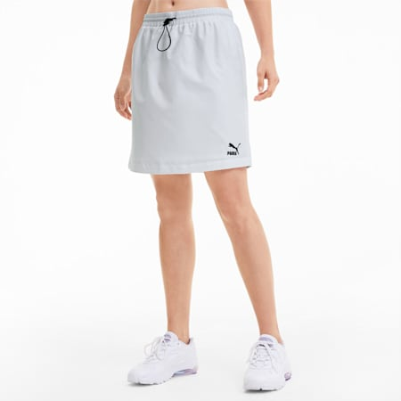 Jupe tissée Classics pour femme, Puma White, small