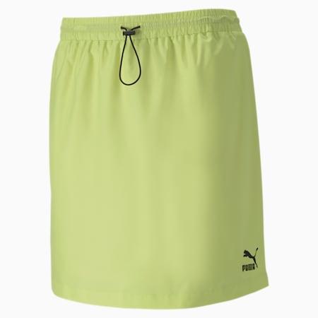 클래식 우븐 스커트/Classics Woven Skirt, Sunny Lime, small-KOR