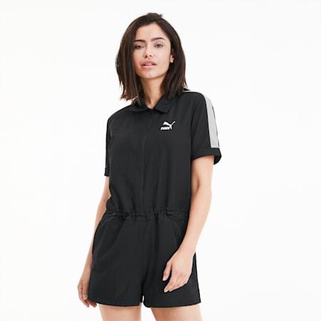 Classics Damen Gewebter Jumpsuit, Puma Black, small
