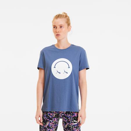 Women's Streetwear Graphic Tee, Marlin, small-SEA