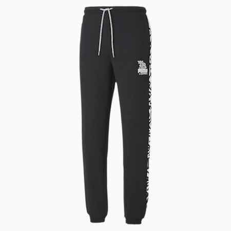 PUMA x MR DOODLE Men's Sweatpants, Puma Black - 1, small