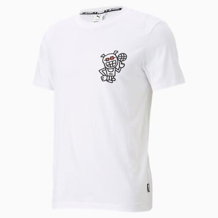 PUMA x MR DOODLE 半袖 Tシャツ, Puma White, small-JPN