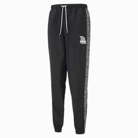 PUMA x MR DOODLE Men's Sweatpants, Puma Black, small-IND