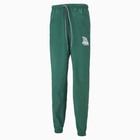 PUMA x MR DOODLE Men's Sweatpants, Covert Green, small-IND