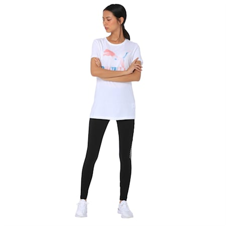 Cloud Pack Graphic Tee Wmns, Puma White, small-IND