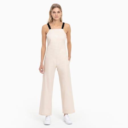 Women's Dungaree Pants, Tapioca, small