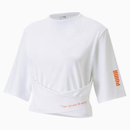 Damska koszulka PUMA x CENTRAL SAINT MARTINS, Puma White, small