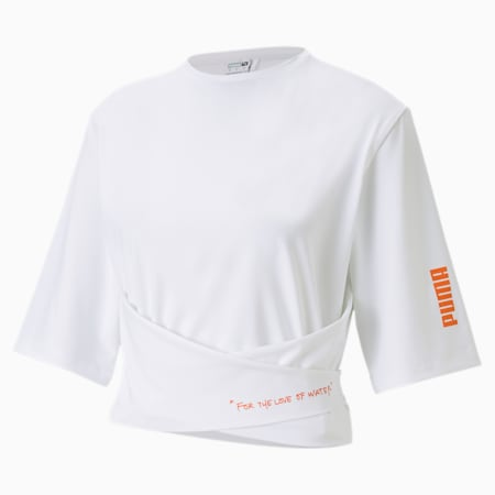 PUMA x CENTRAL SAINT MARTINS Women's Top, Puma White, small