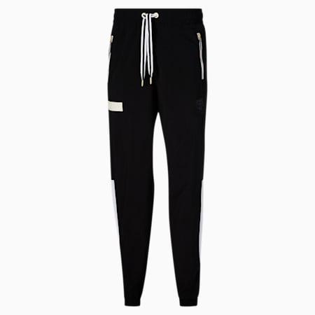 Pantalones de hombre para ejercicios Dream Shake, Puma Black-Puma White, pequeño