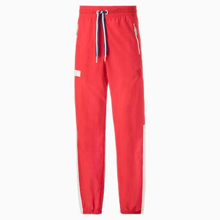 Pantalones de baloncesto Dream Shake Warmup para hombre, High Risk Red-Puma White, small