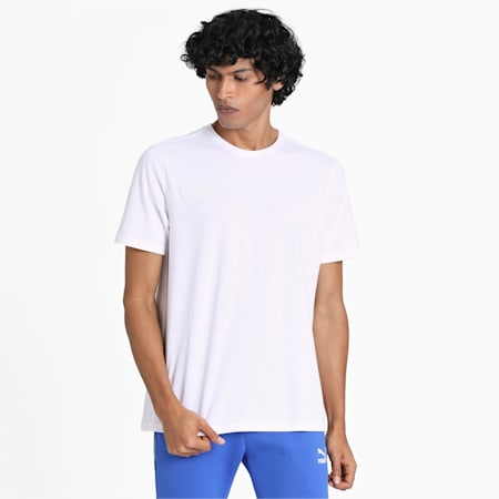 PULL UP SS T-Shirt, Puma White, small-IND