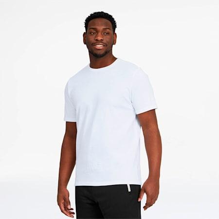 T-shirt pour homme, Blanc Puma, petit