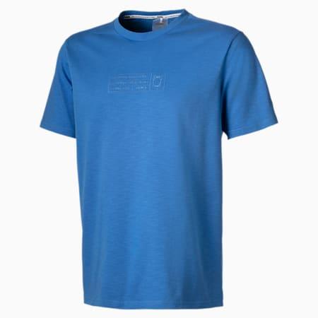 T-shirt pour homme, Bleu palace, petit