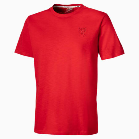 T-Shirt Pull Up Basketball pour homme, High Risk Red, small
