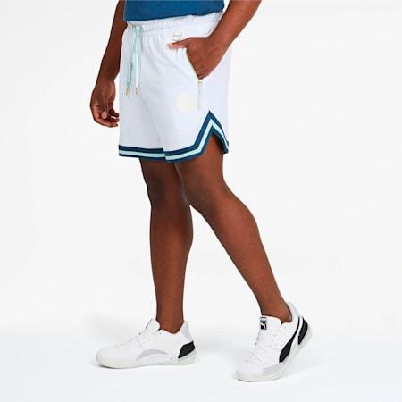 Step Back Men's Shorts, Puma White, small
