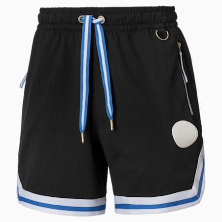 Step Back Herren Basketball Shorts, Puma Black, small