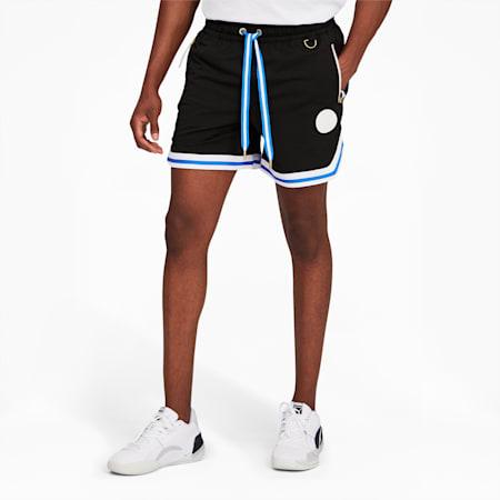 Step Back Men's Shorts, Puma Black, small