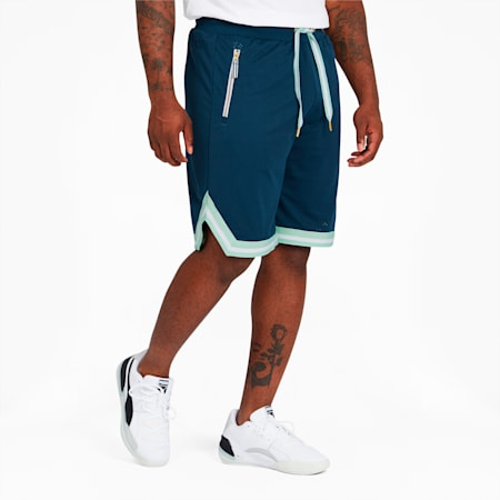 Spin Move Men's Shorts, Dark Denim, small