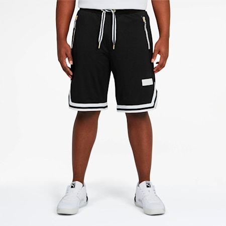 Shorts Spin Move para hombre, Puma Black, pequeño