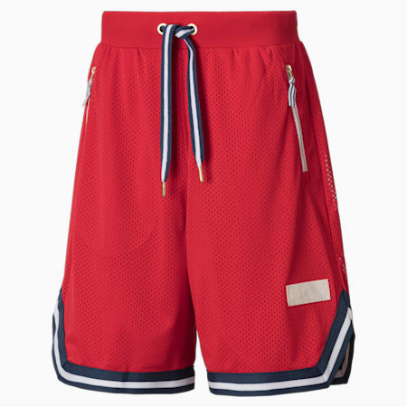 Spin Move Herren Basketball Shorts, High Risk Red, small