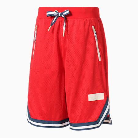 バスケットボール メッシュ ショーツ, High Risk Red, small-JPN