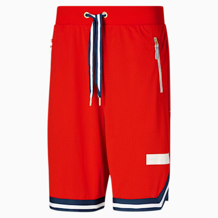 Spin Move Men's Shorts, High Risk Red, small