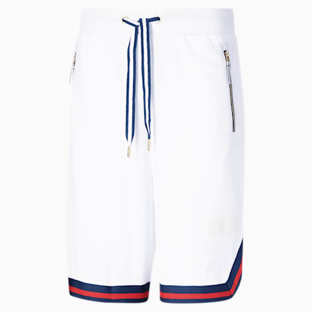 Short Spin Move, homme, Blanc Puma, petit