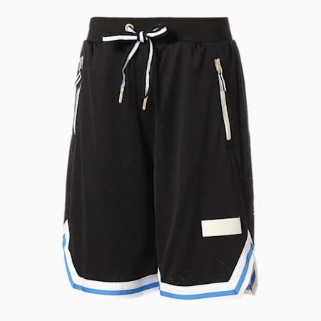 Spin Move Men's Basketball Shorts, Puma Black, small-SEA