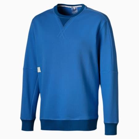 Jump Hook Men's Crewneck Sweatshirt, Palace Blue, small