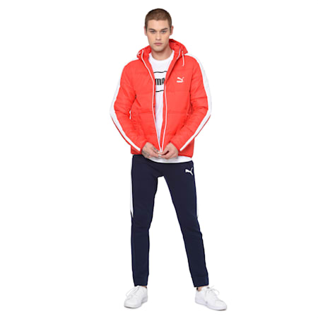 Classics T7 Padded Jacket, High Risk Red, small-IND