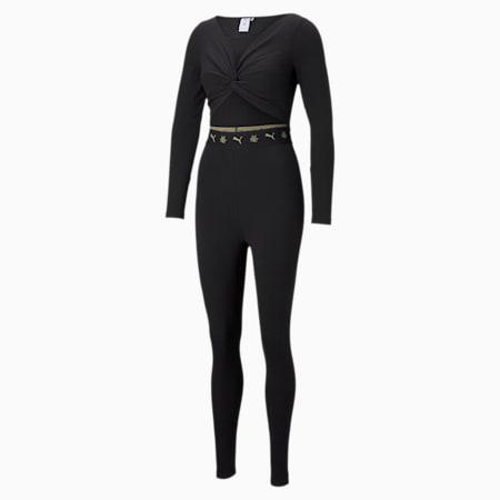PUMA x CHARLOTTE OLYMPIA Women's Jumpsuit, Puma Black, small-SEA