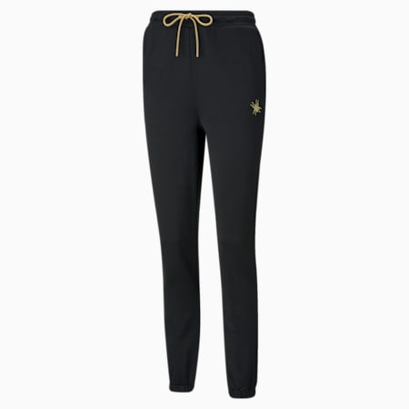 Pantalon en sweat PUMA x CHARLOTTE OLYMPIA pour femme, Puma Black, small