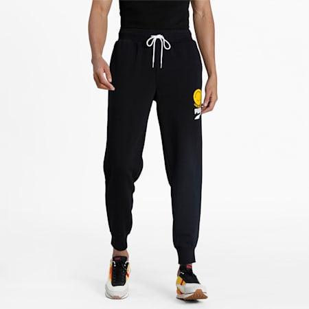 PUMA Club Knitted Men's Pants, Puma Black, small-IND