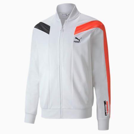 T7 2020 Sport Men's Track Jacket, Puma White, small