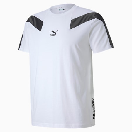 Męska koszulka T7 2020 Sport, Puma White, small