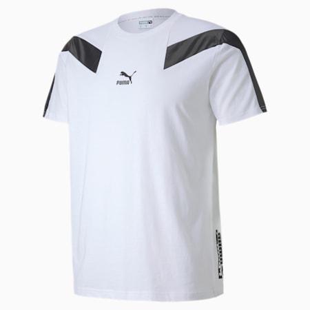 T7 2020 Sport Men's Slim Fit T-Shirt, Puma White, small-IND