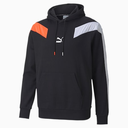Męska bluza z kapturem T7 2020, Puma Black, small