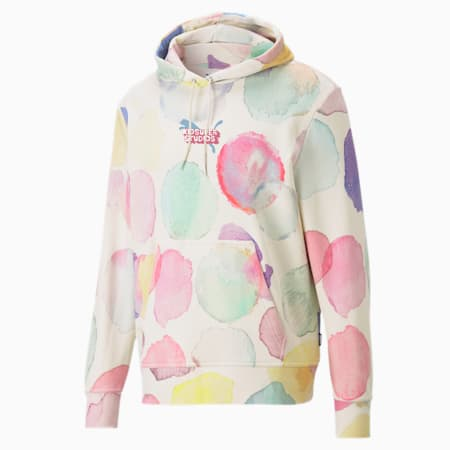 PUMA x KIDSUPER Printed Men's Hoodie, Puma White-AOP, small-SEA