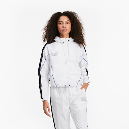 QUEEN Women's Jacket, Puma White, small