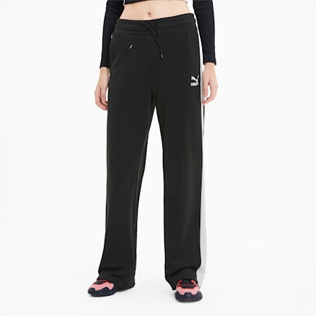 Classics Women's Wide Leg Pants, Puma Black, small