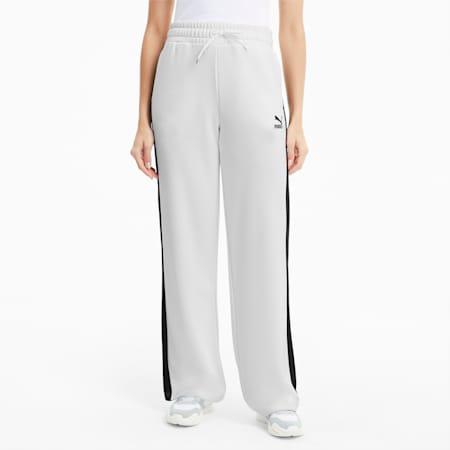 Classics Wide Leg Women's Pants, Puma White, small-SEA