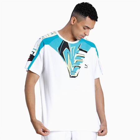 OG DISC T-shirt voor heren, Puma White, small