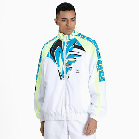 OG DISC Men's Track Jacket, Puma White, small