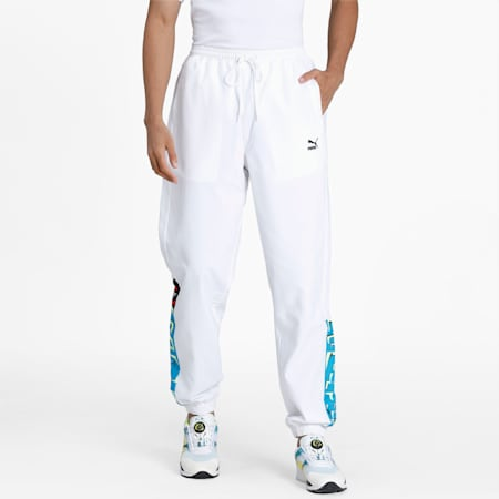 OG DISC Men's Track Pants, Puma White, small
