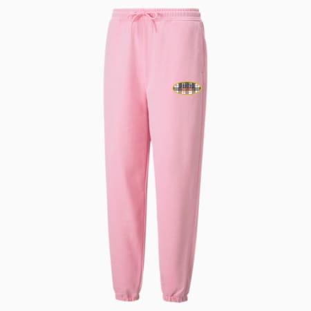 Pantaloni da tuta PUMA x VON DUTCH da donna, PRISM PINK, small
