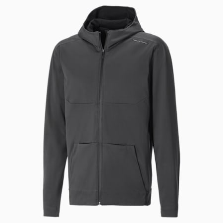 Porsche Design Travel Men's Hoodie, Asphalt, small