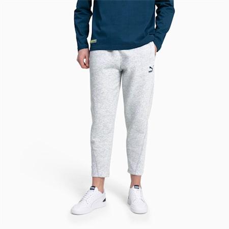 Pantalon en sweat taillé pour homme, Light Gray Heather, small