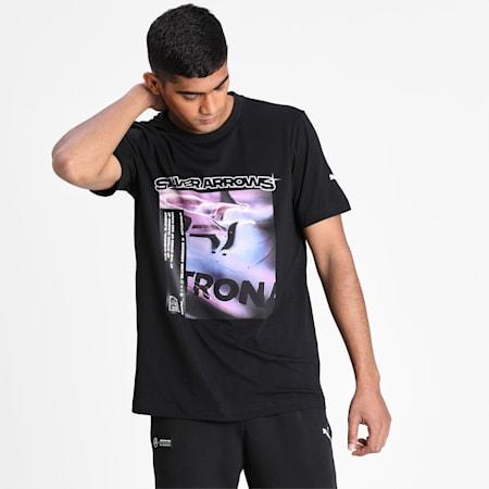 Graphic Men's T-Shirt 2, Puma Black, small-IND